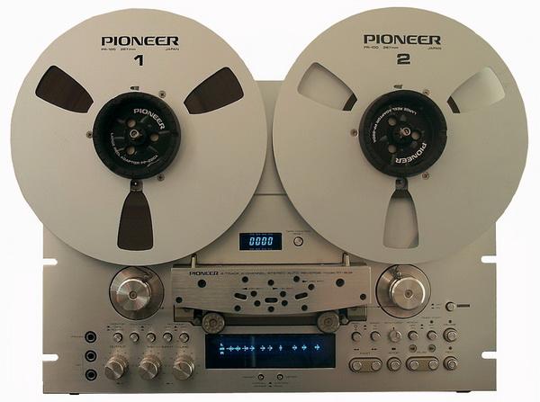 Pioneer RT 909 Silber